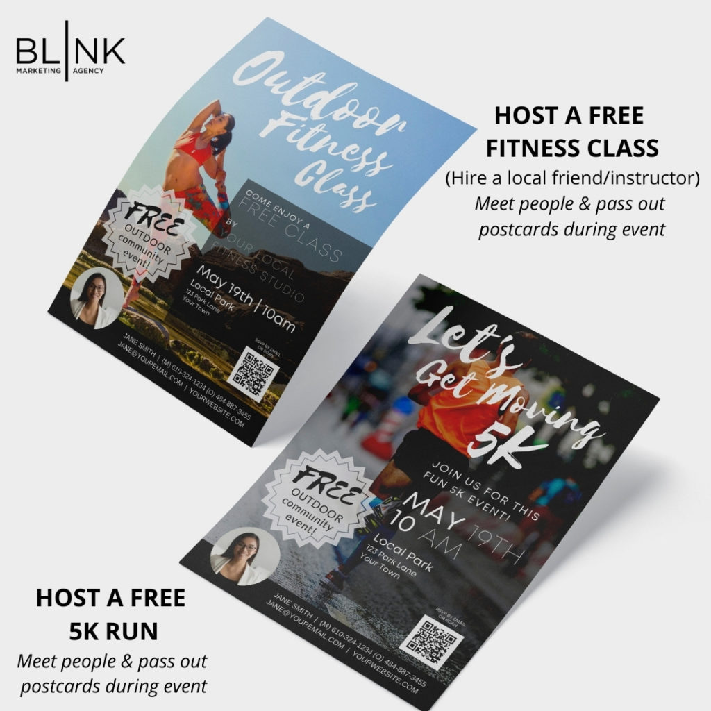 EVENT Free Fitness Class OR 5K